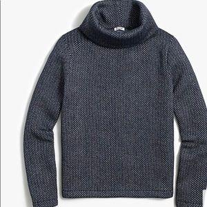New funnelneck pullover